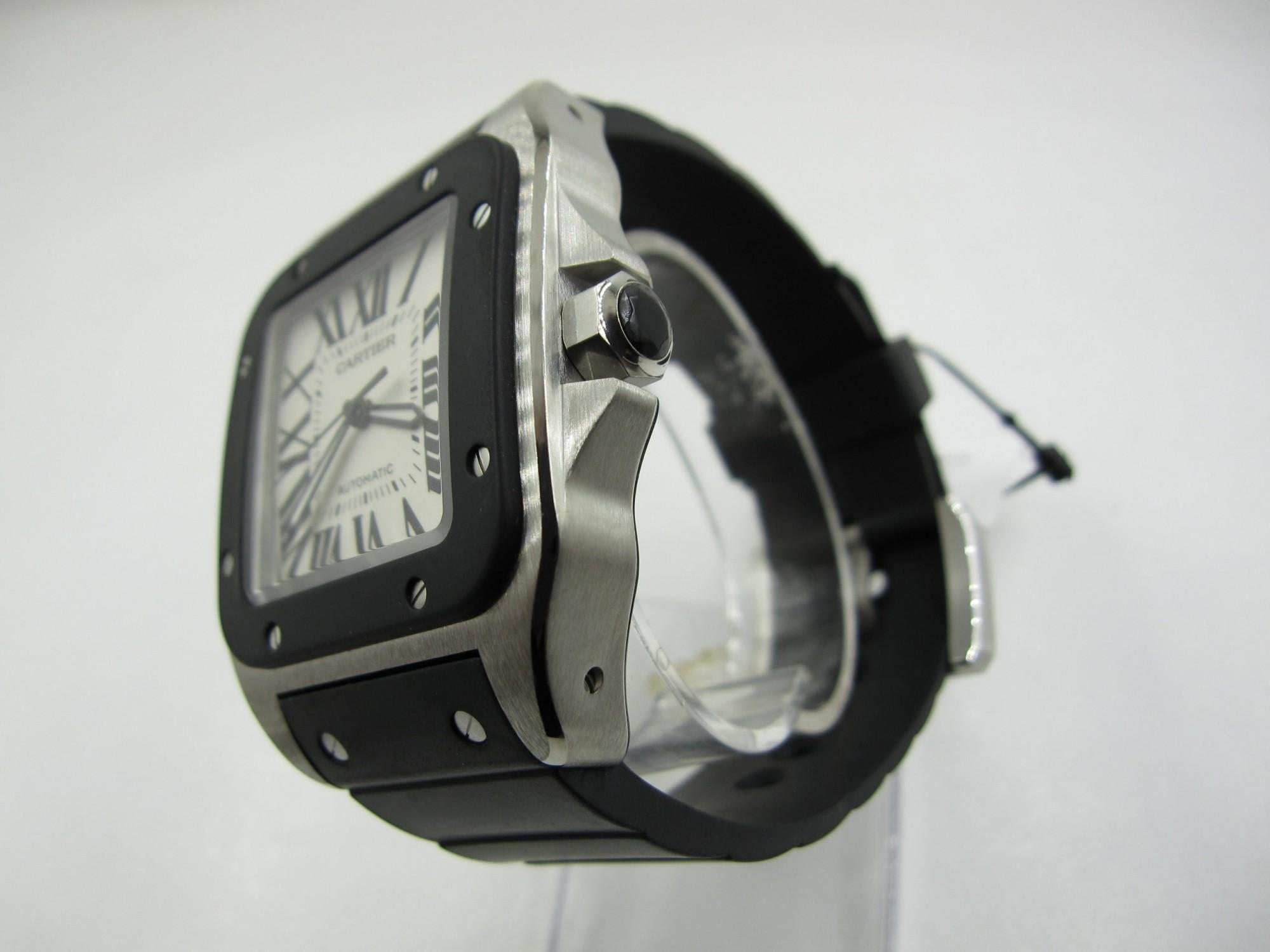 Cartier Santos 100 W20121U2(Pre Owned Watch)CAR-005