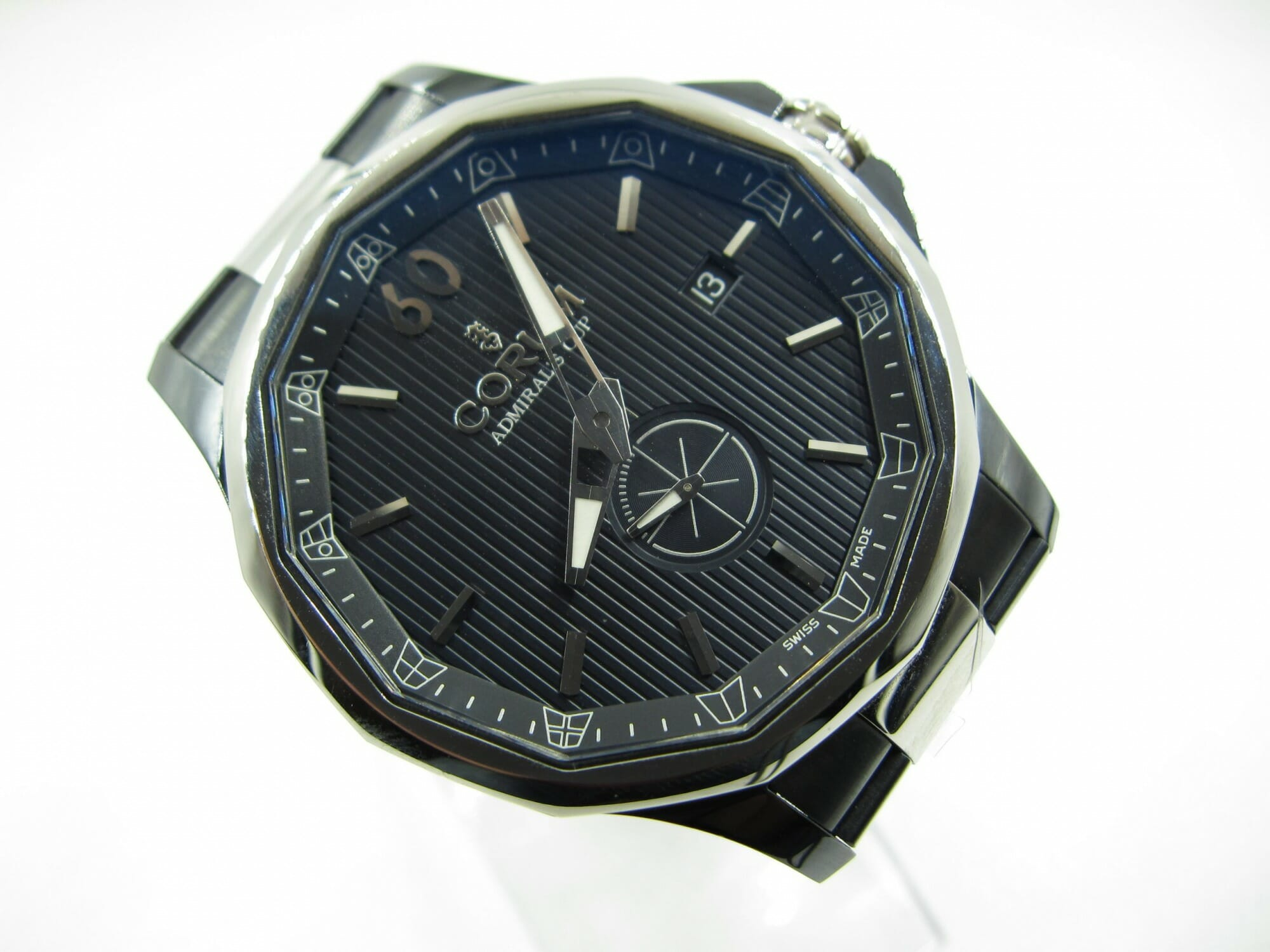 Corum Admiral Cup Legend 42 395.101.30 Black Dial(Pre Owned)CR-006