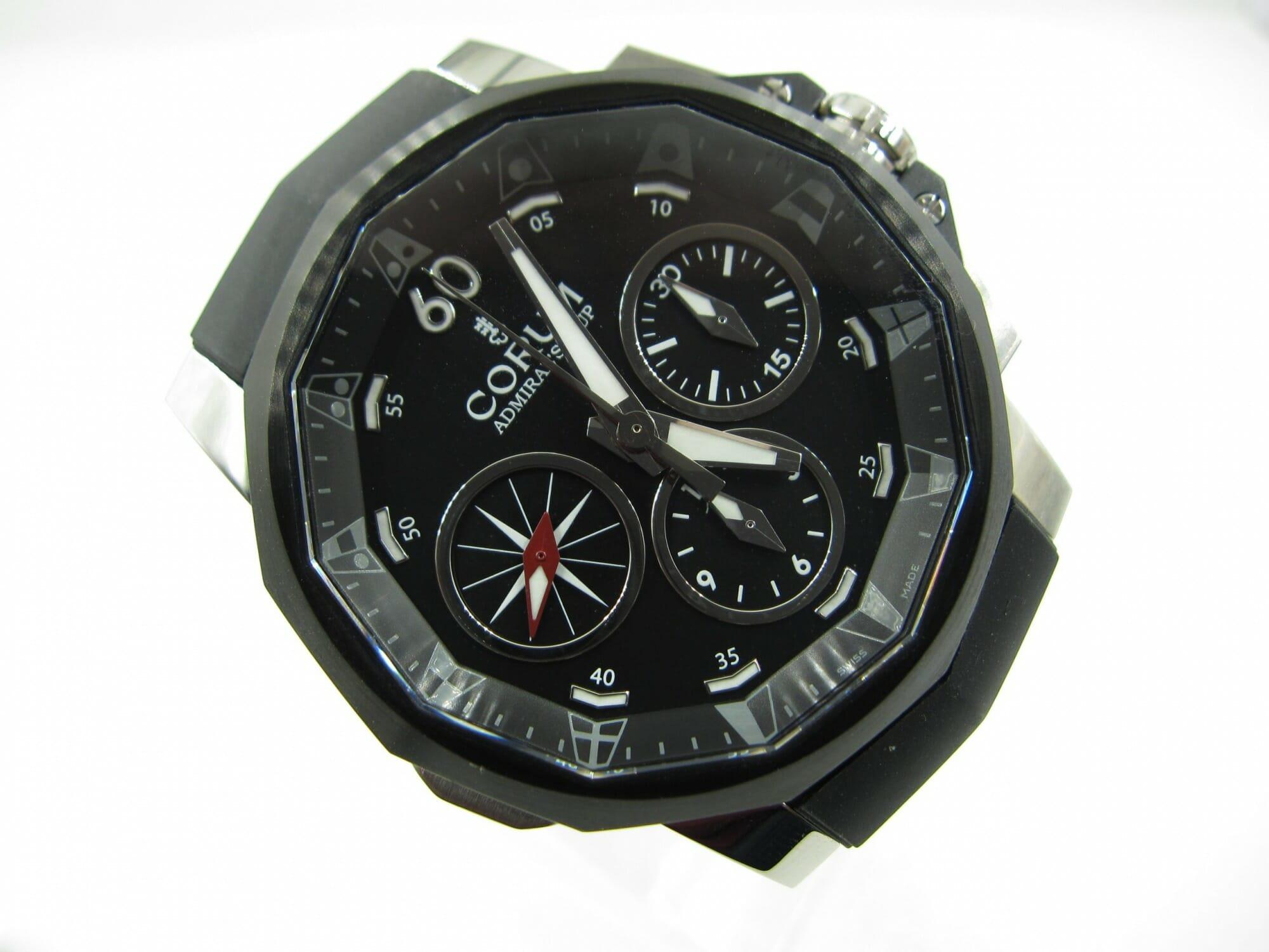 Corum Admirals Cup Black Split-Seconds 44 986.581.98/F371(Unworn)CR-001