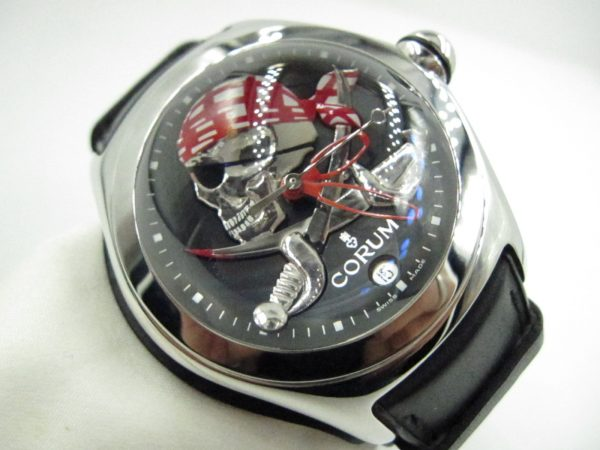 Corum Bubble 082.150.20 Pirate Limited Edition(Pre Owned)CR-016