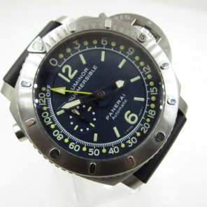 "Panerai Pam307 Luminor Submersible""Mike Horn"" (Pre-Owned Panerai Watch) PNR-035"