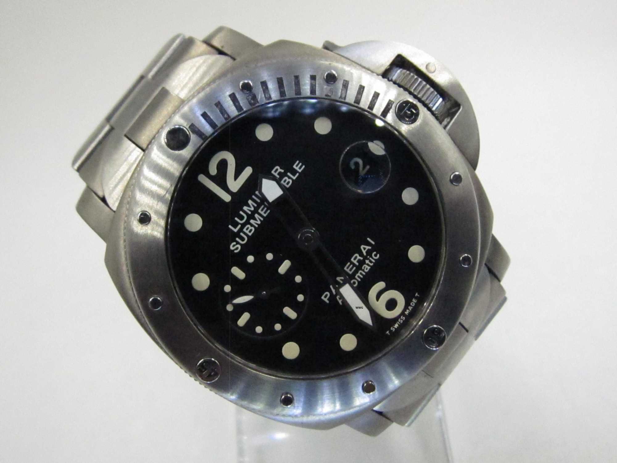 Panerai Luminor Submersible PAM 106(Pre Owned Panerai Watch)PNR-070
