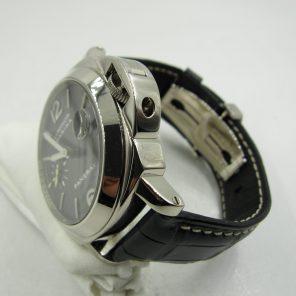 Panerai PAM 180 18K White Gold Luminor Marina Carbon Dial(Pre-Owned Panerai Watch)PNR-058