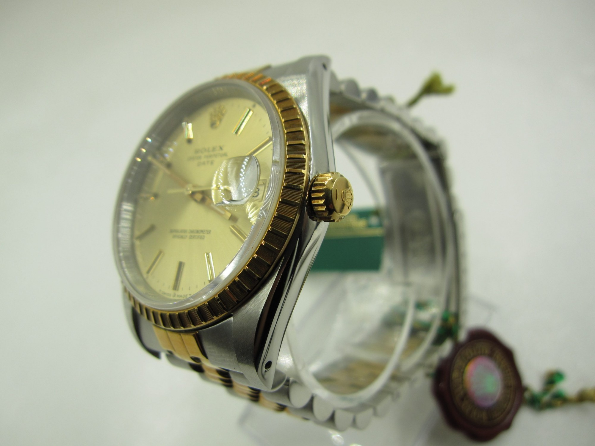 Rolex Oyster Perpetual Date 15223(Pre-Owned Rolex Watch)RL-229