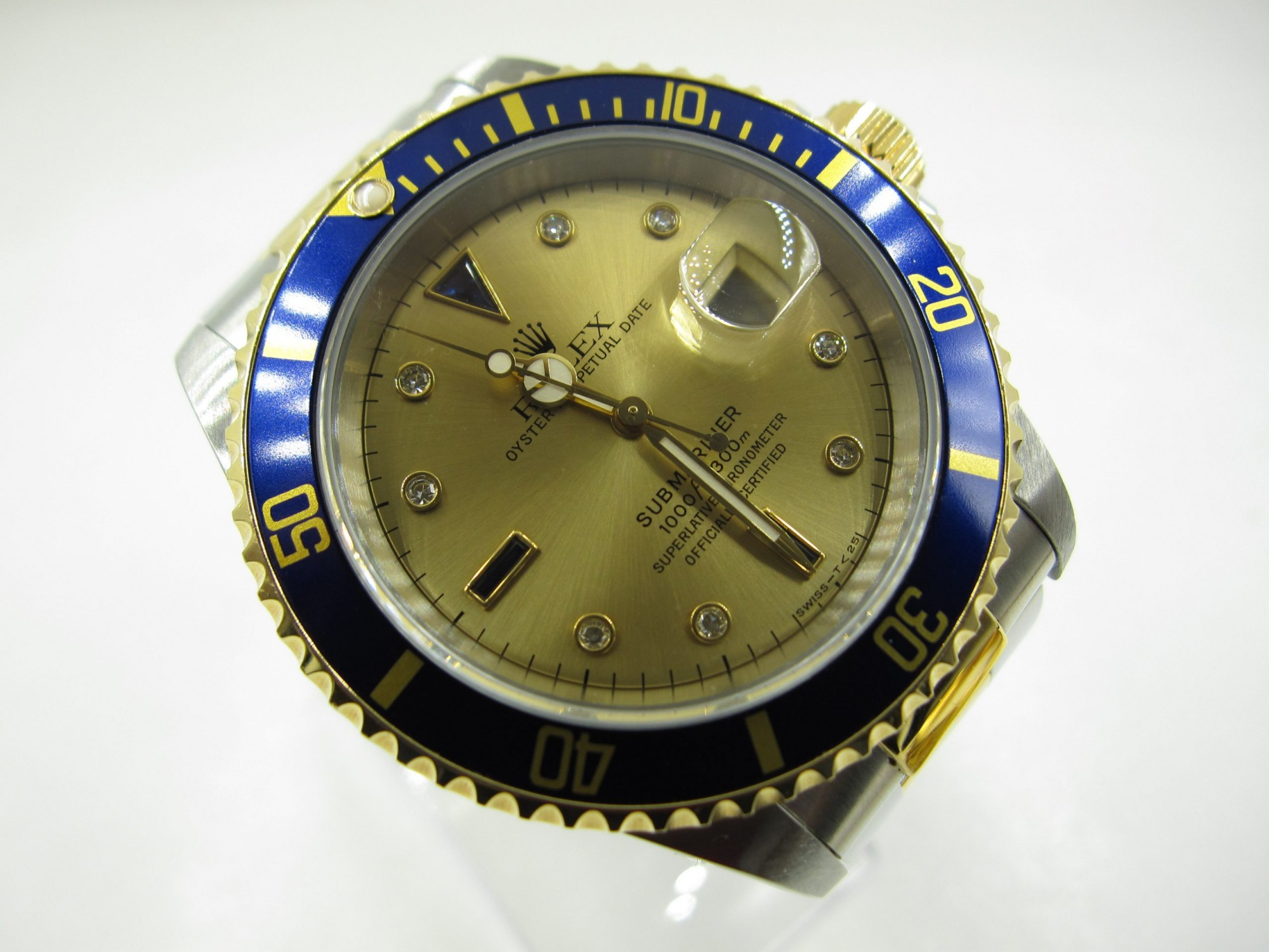 Rolex 16613 Submariner Steel And Gold(Pre-Owned Rolex Watch)RL-205 Call For Price