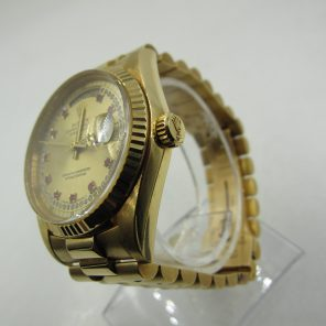 Rolex 18038 Day-Date 18K Yellow Gold(Pre-Owned Rolex Watch)RL-194