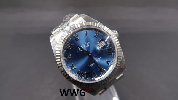 Rolex Datejust 2 41 126334 Blue Dial(New Rolex Watch)RL-617 (Cash Price)