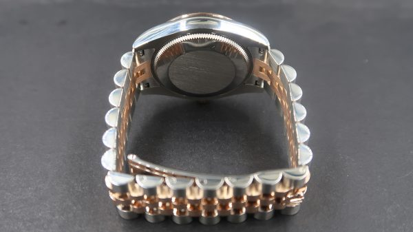 Rolex Datejust 31 178271 Black Mop Dial Diamond Index (Pre Owned Rolex Watch) RL-659