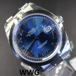 Rolex Datejust 41 126300 Blue Dial (New Rolex Watch)RL-609 (Cash Price)