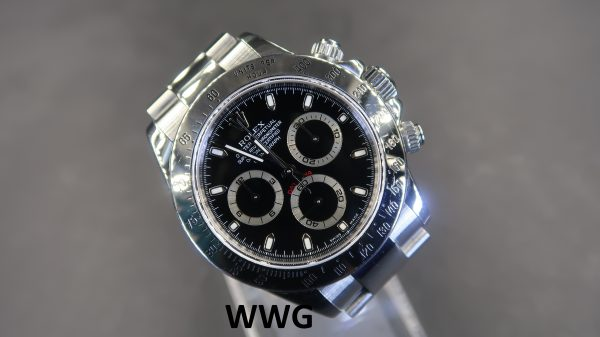 Rolex Daytona Cosmograph 116520 Black Dial(Pre-Owned Rolex Watch)RL-576