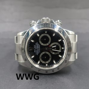 Rolex Daytona Cosmograph 116520 Black Dial(Pre-Owned Rolex Watch)RL-248