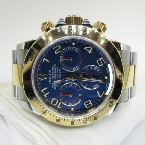 Rolex Daytona Cosmograph 116523 Racing Blue Dial(Pre Owned Rolex Watch)RL-367