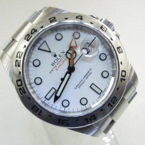 Rolex Explorer II 216570 White Dial (New Rolex Watch) RL-654 (Cash Price)