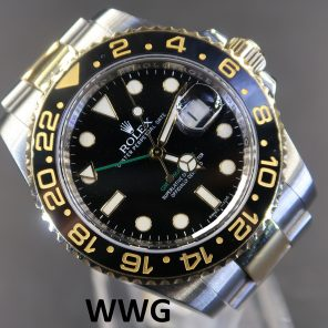 Rolex GMT Master 2 116713LN Black Dial(Pre Owned Rolex Watch)RL-555