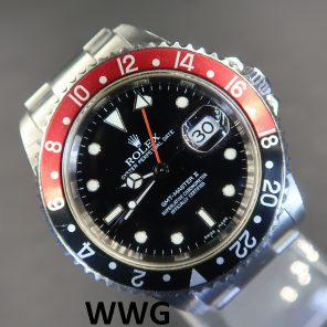 Rolex GMT Master II 16710 No Pin Hole (Pre-Owned Rolex Watch) RL-580