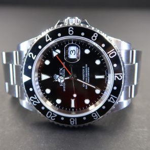 Rolex GMT Master II 16710 No Pin Hole(Pre-Owned Rolex Watch)RL-413