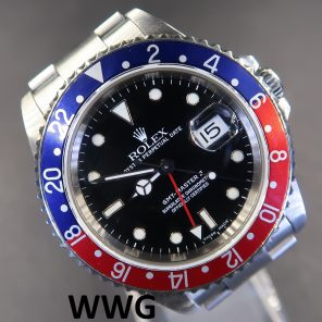 Rolex GMT Master II 16710 With Pin Hole (Pre-Owned Rolex Watch) RL-608