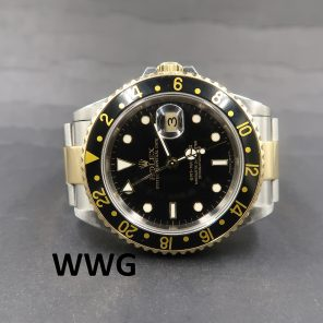 Rolex GMT Master II 16713LN Black Dial(Pre Owned Rolex Watch)RL-643