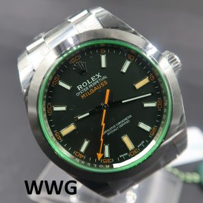 Rolex Milgauss 116400GV (New Rolex Watch)RL-665 (Cash Price)