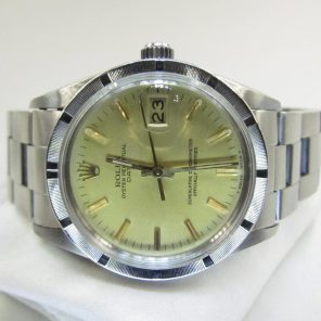 Rolex Oyster Perpetual Date 15010 (Pre-Owned Rolex Watch)RL-337