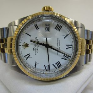 """Rolex Datejust 16013 """"Buckley Dial""""(Pre Owned Rolex Watch)RL-330"""