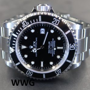 Rolex Oyster Perpetual Sea-Dweller 16600 No Pin Hole(Pre-Owned Rolex Watch)RL-590