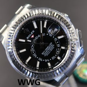 Rolex Sky-Dweller 326934 Black Dial(New Rolex Watch) RL-557(Cash Price)