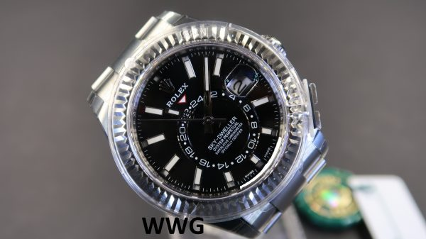 Rolex Sky-Dweller 326934 Black Dial(New Rolex Watch) RL-557(Cash Price)