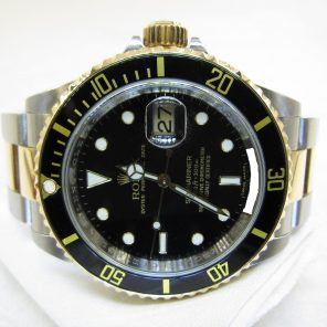 Rolex Submariner Date 16613LN With Chapter Ring(Pre-Owned Rolex Watch)RL-303