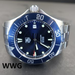 Tag Heuer Aquaracer 2000 WAB2011.BA0803 Blue Dial (Pre Owned)TH-042