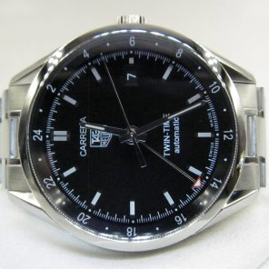 Tag Heuer Carrera Twin-Time WV2115.BA0787(Pre Owned)TH-024