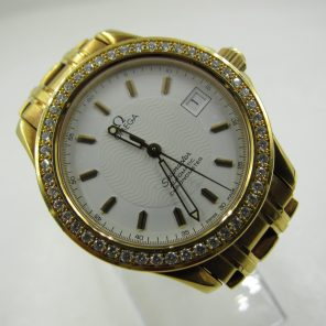 Vintage Omega Seamaster Yellow Gold (Pre Owned)OMG-018