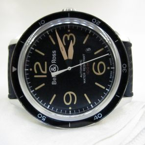 Bell & Ross Sport Heritage BRV123-ST-HER(Pre Owned)BR-028