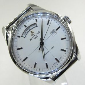 Breitling Transocean Day & Date A45310(Pre-Owned)BRE-011