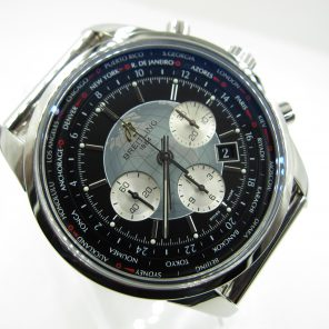 Breitling Transocean World Time A050B620CA(Pre Ownded Watch)BRE-007