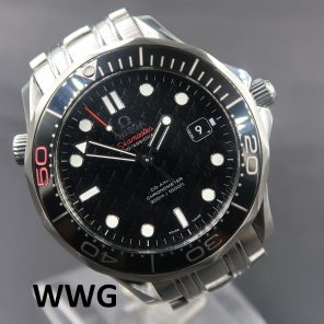"""Omega Seamaster """"James Bond"""" 50th Anniversary 212.30.41.20.01.005 (Pre Owned Watch) OMG-085"""