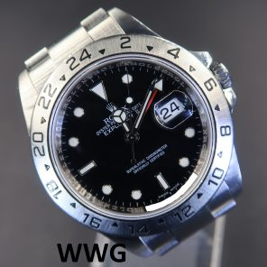 Rolex Explorer 2 16570 Black Dial 3186 Movement (Pre-Owned Rolex Watch) RL-598