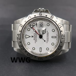 Rolex Explorer 2 16570 White Dial(Pre Owned Rolex Watch)RL-599