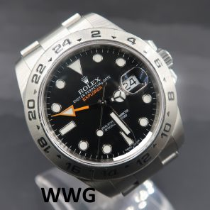 Rolex Explorer II 216570 Black Dial (New Rolex Watch) RL-680 (Cash Price)