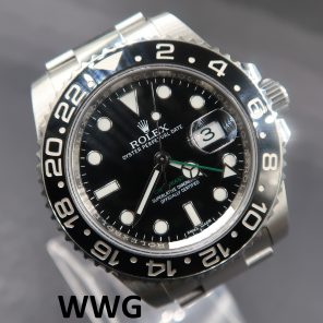 Rolex GMT Master II 116710LN (Pre Owned Rolex Watch) RL-645 (Cash Price)