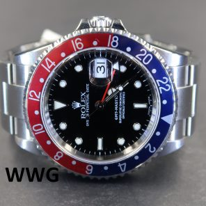 Rolex GMT Master II 16710 No Pin Hole (Pre-Owned Rolex Watch) RL-490