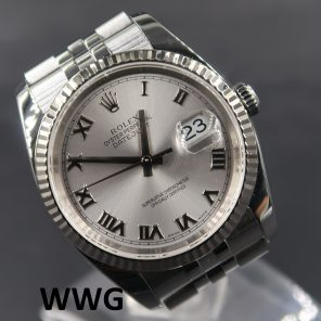 Rolex Oyster Perpetual Datejust 116234 Rhodium Dial (Pre-Owned Rolex Watch) RL-685