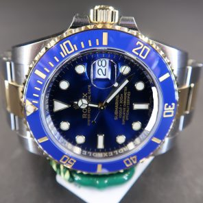 Rolex Submariner Date 116613LB Blue Dial (New Rolex Watch) RL-662 (Cash Price)